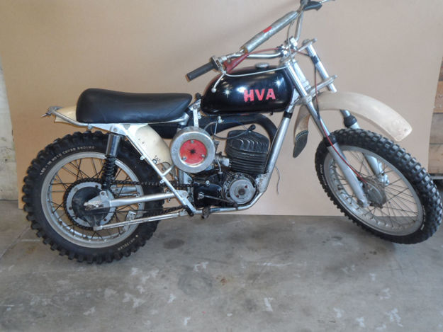 "Picture of Husqvarna 250cc  1967,  ""SOLD"""
