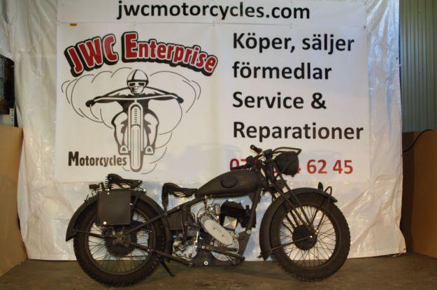 """Bild på Monark Albin Sidventil  500cc  1942,    """" SOLD """""""