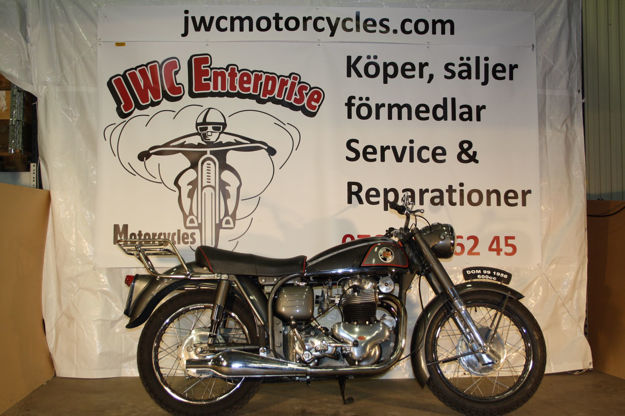 "Picture of Norton Dominator 99 1956,    "" SOLD """