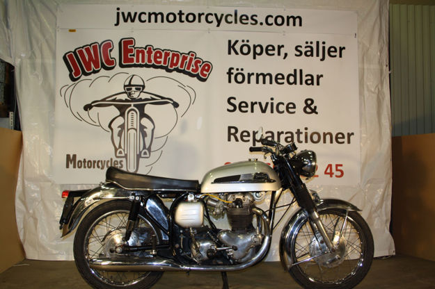 "Picture of Norton SS 650cc  1967,    "" SOLD """