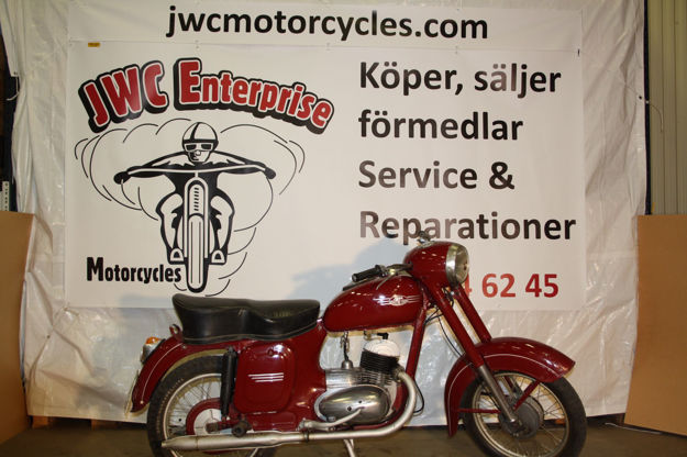 "Picture of Jawa 1958  125cc,    ""SOLD"""