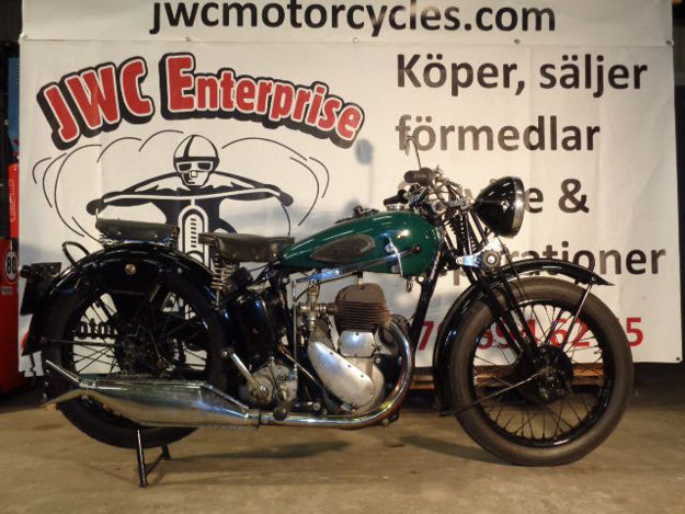 "Picture of BSA M20  1937  "" SOLD """