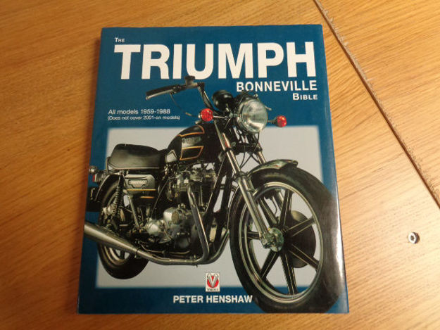 Picture of Triumph Bonneville Bible