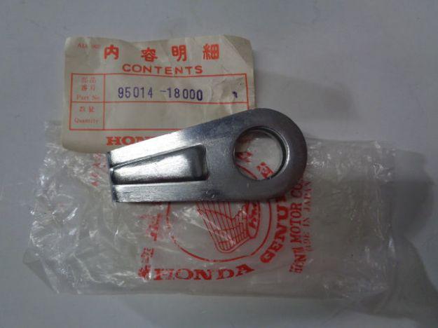 Picture of NOS HONDA CR250R CL450K2 CB450K5 CB550F CHAIN ADJUSTER PART# 95014-18000, 1 styck.