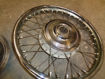 """Picture of BSA/TRIUMPH 8"""" TWIN LEADING BRAKE FRONT WHEEL 1968"""