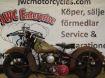 "Picture of Harley Davidsson WL 1946  "" SOLD """