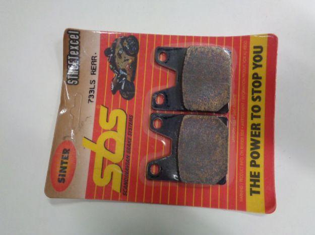 Picture of SBS Brake pads/bromsbelägg 733LS REAR/733LS.S Sinter Street excel