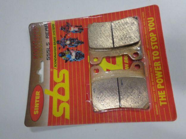 Bild på SBS Brake pads/bromsbelägg 555LS REAR/555LS.S Sinter Street excel