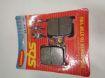 Picture of SBS Brake pads/bromsbelägg 547HF FRONT/547.S Ceramic Street