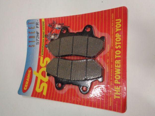 Bild på SBS Brake pads/bromsbelägg 572HF FRONT/572.S Ceramic Street