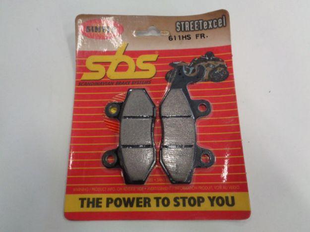 Picture of SBS Brake pads/bromsbelägg 611HS FRONT/611HS.S Sinter