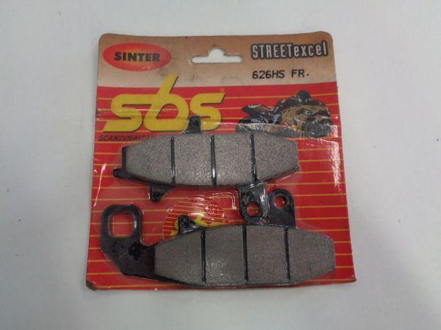 Picture of SBS Brake pads/bromsbelägg 626HS FRONT/626HS.S Sinter