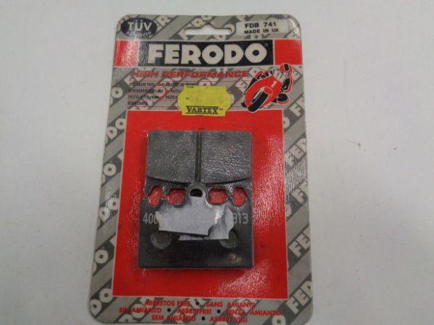 Picture of Break Pads/Bromsbelägg Ferodo FDB741