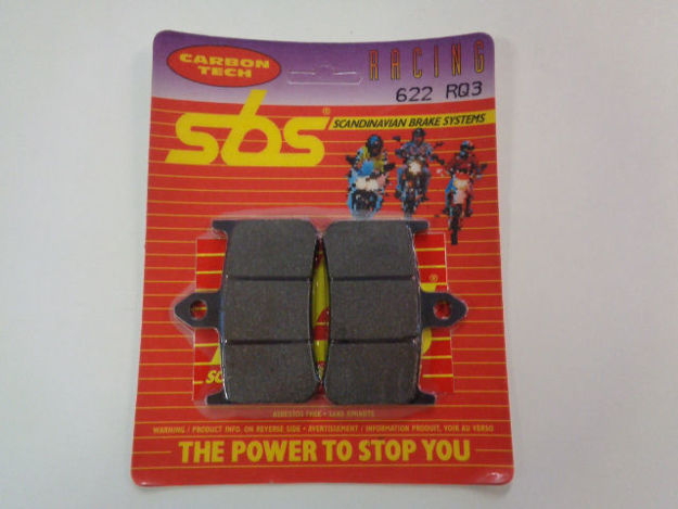 Bild på SBS Brake pads/bromsbelägg 622RQ3/622RQ.S Carbon tech Racing
