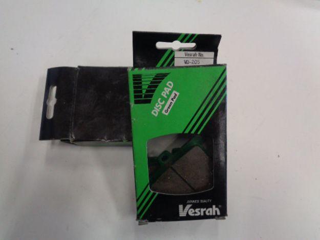 Picture of Vesrah Break Pads/Bromsbelägg VD-205 Green Organic