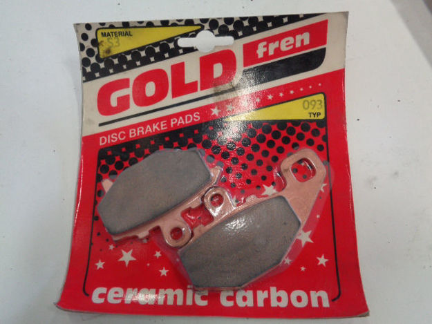 Picture of GOLD  type number 093 Brake Pads/Bromsbelägg
