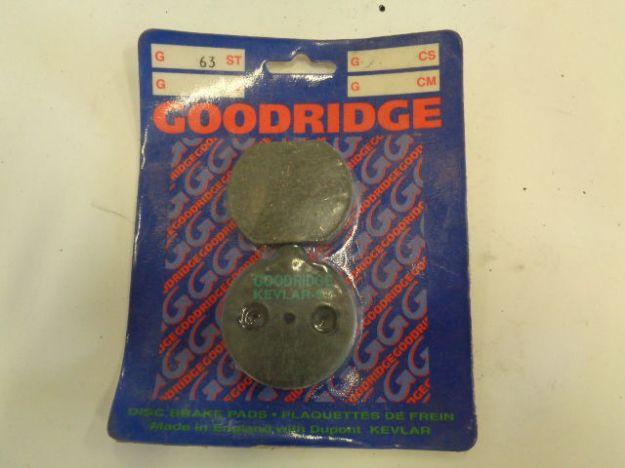 Picture of GOODRIDGE  G63ST Brake Pads/Bromsbelägg
