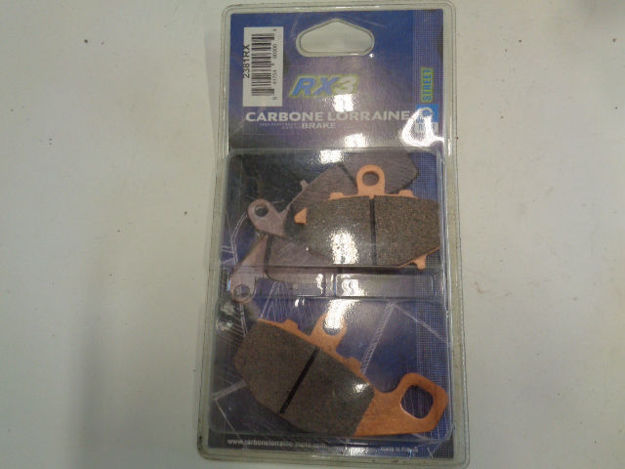 Picture of Carbone Lorraine 2381RX Brake Pads/Bromsbelägg